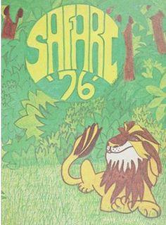 1976 Borah High School Yearbook.  Safari.