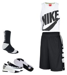 """""""Basketball Practice"""" by syragotswag ❤ liked on Polyvore featuring NIKE"""