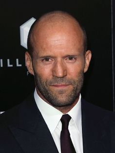 Jason Statham and his famously buzzed head. (Photo: Getty)