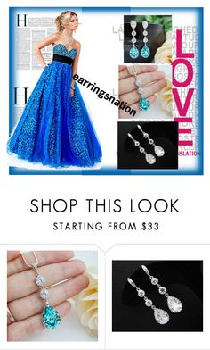 """""""Earringsnation-22"""" by nihada-niky ❤ liked on Polyvore featuring earringsnation"""