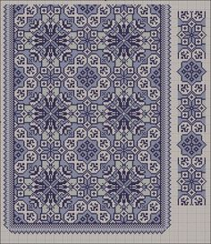 Beading _ Pattern - Motif / Earrings / Band ___ Square Sttich or Bead Loomwork ___ Gallery. Cross Stitch Borders, Cross Stitch Charts, Cross Stitch Designs, Cross Stitching, Cross Stitch Embroidery, Embroidery Patterns, Cross Stitch Patterns, Graph Design, Tapestry Crochet