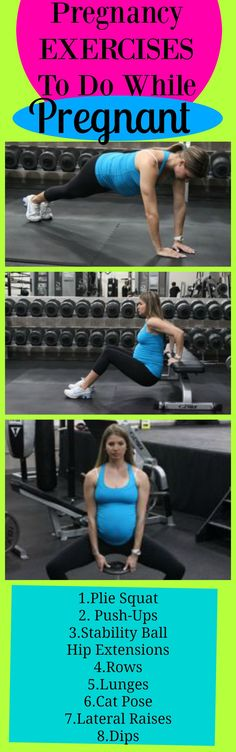 Pregnancy Fitness Tips:  Exercises You Can Do While Pregnant that are safe and will help not gain a ton of weight.  There is a cool 2 week pregnancy diet plan in this post.  http://michellemariefit.publishpath.com/prenatal-fitness-exercises-you-can-do-while-pregnant