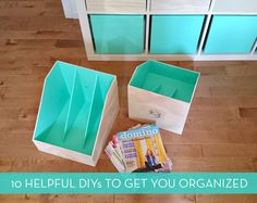 Get Organized! 10 DIY Project To Help You Achieve Your Goals For 2015