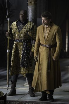 """Areo Hotah & Jaime Lannister 