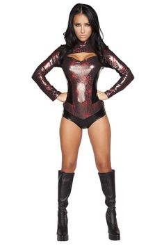 #FashionVault #roma #Women #Accessories - Check this : Webbed Warrior Sexy Superhero Costume for $64.99 USD