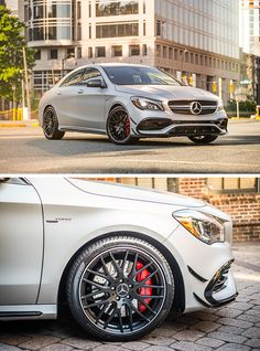 Design meets Driving Performance: The Mercedes-AMG CLA 45 4MATIC photographed by @trentbonaphoto via @mercedesbenzusa #MBphotopass [Mercedes-AMG CLA 45 4MATIC | combined fuel consumption 7.3–6.9 l/100km | combined CO2 emission 171–162 g/km | http://mb4.me/efficiency_statement]