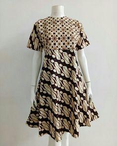 Blouse Batik, Batik Dress, African Wear, African Fashion, Dress Batik Kombinasi, Batik Fashion, Africa Dress, Gala Dresses, Kurta Designs
