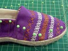 How to Make DIY Espadrilles with Dritz® | Sew4Home