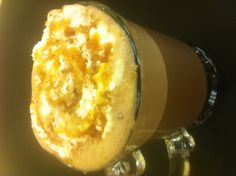 Go on!  Try to resist this Salted Caramel Mocha made at Madalyn's Coffee & Tea. I dare you.
