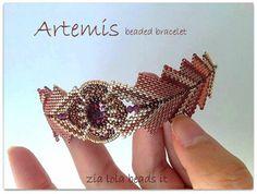 Artemis beaded bracelet   Craftsy