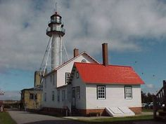 Whitefish Point, Lake Superior.  Visit the museum, tour the lightkeepers quarters, shop at the gift shops, wade along the lakeshore -- so much to do here!  We always go at least twice during our Michigan vacations!