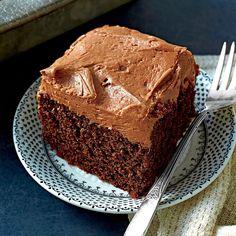 Chocolate-Mayonnaise Cake   | MyRecipes