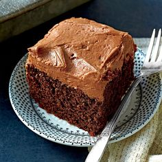 Chocolate-Mayonnaise Cake Recipe as seen in Southern Living 2/15