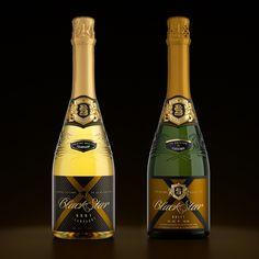 Range of champagne and cognac for HoReCa.