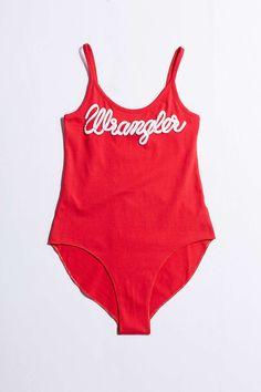 Wrangler Logo Bodysuit