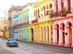 Explore previously off-limits Cuba, where you can taste once-forbidden rum, puff on a hand-rolled cigar and travel in a classic car through Havana's modern neighborhoods. Here are the best new cruises to Cuba. Varadero, Amazing Destinations, Travel Destinations, Zona Colonial, Miles City, Vinales, Cuba Travel, Solo Travel, Travel Music