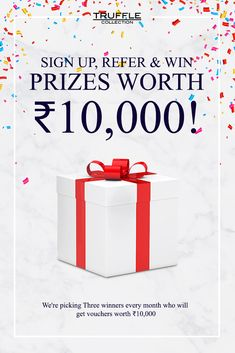 Win Truffle Collection Vouchers worth INR 10000
