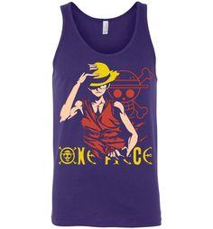 One Piece Monkey D Luffy Unisex Tank Top