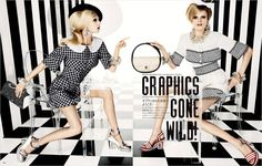 'Graphics Gone Wild' by Giampaolo Sgura for Vogue Japan