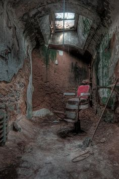 Eastern State Pennitentiary  Philadelphia, Pennsylvania - by Eric Holubow