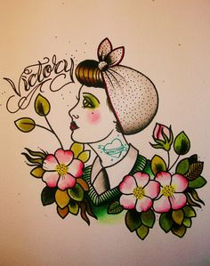 tattoos and artwork by Cassandra Frances: land girls...