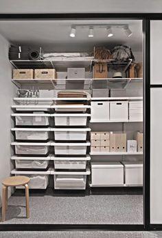 Smart storage with Elfa