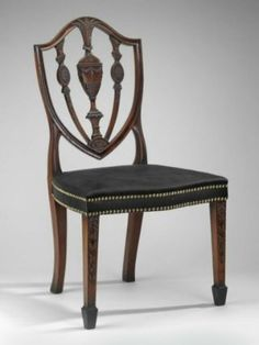 Side chair, Neoclassical 1790–95 Carved by Samuel McIntire, American, 1757–1811