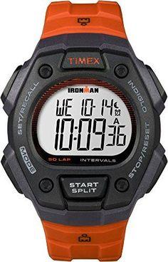 dc7c6b54c505 Timex Ironman 50-Lap Orange Watch Relojes Digitales  DigitalWatch  Trindu  Ironman