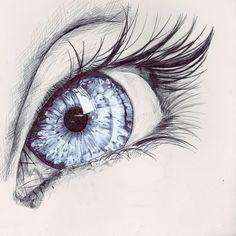 Qual a cor dos seus olhos?