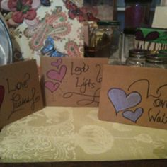 What Love Does... Blank Notecards by: e. jones