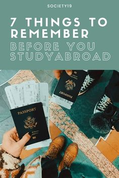 7 Things To Remember Before You Study Abroad College Trends, College Hacks, School Hacks, College Life, School Tips, Study Tips, Study Hacks, Acceptance Letter, Packing Light