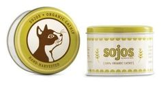 CAT TREATS - CAT GRASS - SOJOS ORGANIC CATNIP - 1 OZ TIN - SOJOS - UPC: 755709200328 - DEPT: CAT PRODUCTS