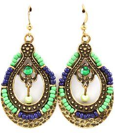 Karima Charm Earrings    www.bohypsy.com