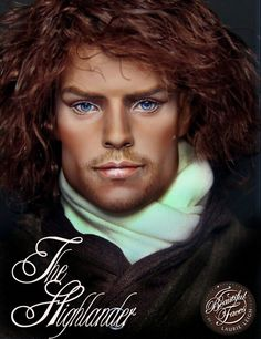 Inspired by Jamie Fraser in Outlander Tonner Matt Doll Repaint by Laurie Leigh.