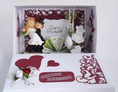 Gastgeschenke - Geldgeschenk zur Hochzeit ( VII) - ein Designerstück von A-Z-Bastelshop bei DaWanda