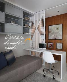 Na coluna da semana, a arquiteta mostra como implementar divisórias que tragam estilo e sofisticação ao lar