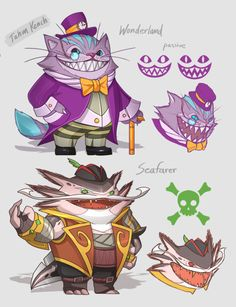 League of Legends Skin Concepts