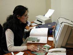 Karina Carmona, administration department.