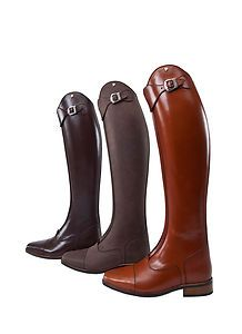 PETRIE Superior Dressage BOOTS -All sizes - NEW! Front ZIP - These are drool worthy!!