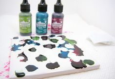 great use for alcohol inks
