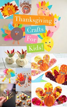 The cutest Thanksgiving Crafts for Kids from paper turkeys to thankful trees, these adorable Thanksgiving crafts will keep your little turkeys busy! Thanksgiving Crafts For Kids, Thanksgiving Activities, Crafts For Kids To Make, Thanksgiving Decorations, Kids Crafts, Thanksgiving Recipes, Holiday Crafts, Holiday Fun, Lamb Craft