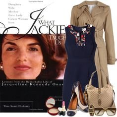 Jackie O Style, created by Jackie Oh, Jackie Kennedy Style, Iconic Women, Classy Women, Her Style, Day Dresses, Luxury Fashion, Lady, Clothes