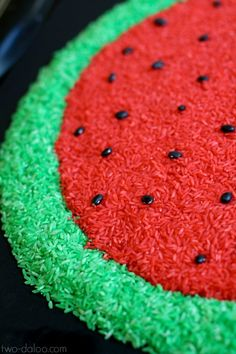 Create this beautiful scented watermelon rice with just a few ingredients- awesome for summer sensory play!
