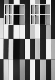 Abstract architecture / black and white