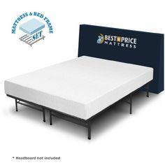 Best Price Mattress 8″ Comfort Premium Memory Foam Mattress and Bed Frame Set, Queen  http://www.furnituressale.com/best-price-mattress-8-comfort-premium-memory-foam-mattress-and-bed-frame-set-queen/