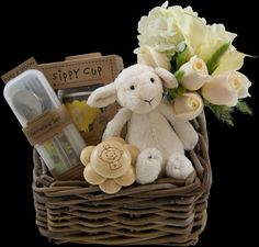 Baby Welcome Basket | Winston Flowers