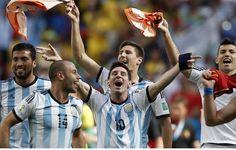 Argentina 1 -0 Belgium: The 5 Best Players #LionelMessi #WorldCup #Soccer #Football #Gonzalo Higuain