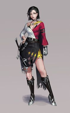 Swordsman, Cotta - on ArtStation at https://www.artstation.com/artwork/O9mQK