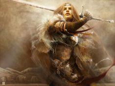 Fantasy Art Paintings | Fantasy Art: No Fear - 2D Digital, Digital paintings, FantasyCoolvibe ...