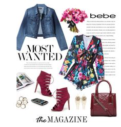 """Destination Runway with bebe : Contest Entry"" by hellodollface ❤ liked on Polyvore featuring Bebe, Gianvito Rossi, women's clothing, women's fashion, women, female, woman, misses, juniors and beiconic"